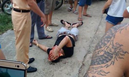 CSGT rút súng bắn trúng  đầu người dân