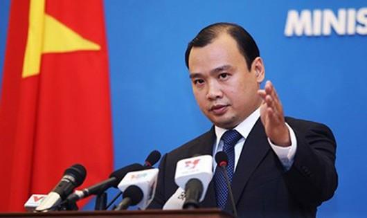 Việt Nam phản đối quan chức Đài Loan xâm phạm chủ quyền
