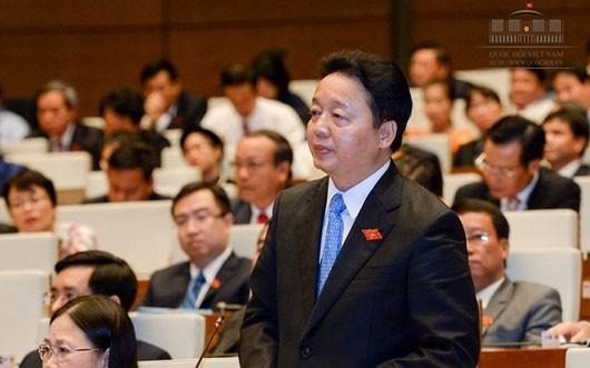 Bộ trưởng Bộ Tài nguyên và Môi trường Trần Hồng Hà