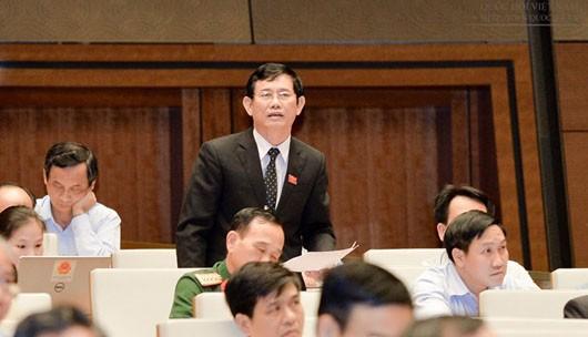 ĐB Nguyễn Ngọc Phương chất vấn Bộ trưởng trần Hồng Hà liên quan đến sự cố môi trường ở biển miền Trung