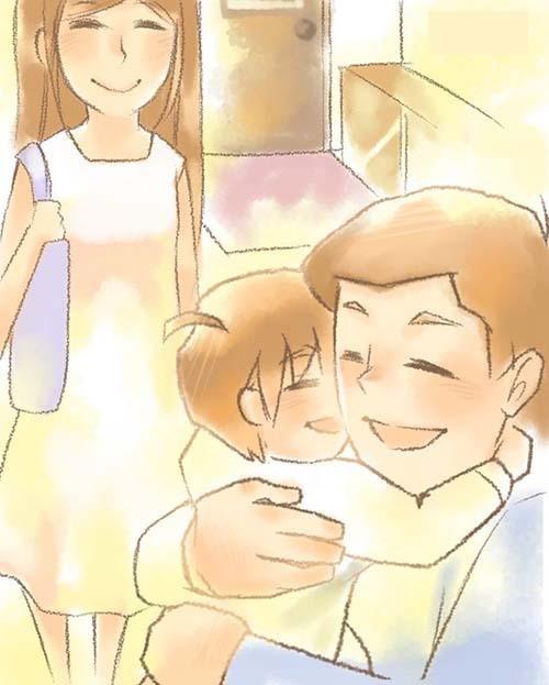 Những điều nhỏ bố mẹ làm khiến trẻ thấy được yêu