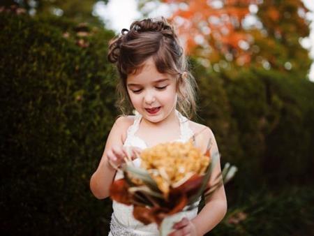 Lúc mới bị bệnh, Amber từng muốn thấy con gái diện váy cưới