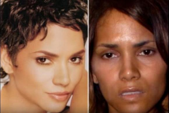 Người đẹp Hollywood bị 'bóc mẽ' nhan sắc khi để mặt mộc 9