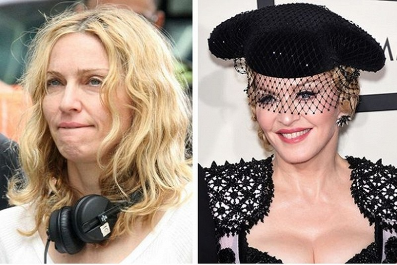 Người đẹp Hollywood bị 'bóc mẽ' nhan sắc khi để mặt mộc 1