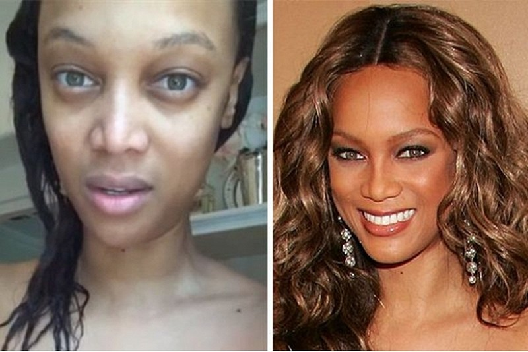 Người đẹp Hollywood bị 'bóc mẽ' nhan sắc khi để mặt mộc 6