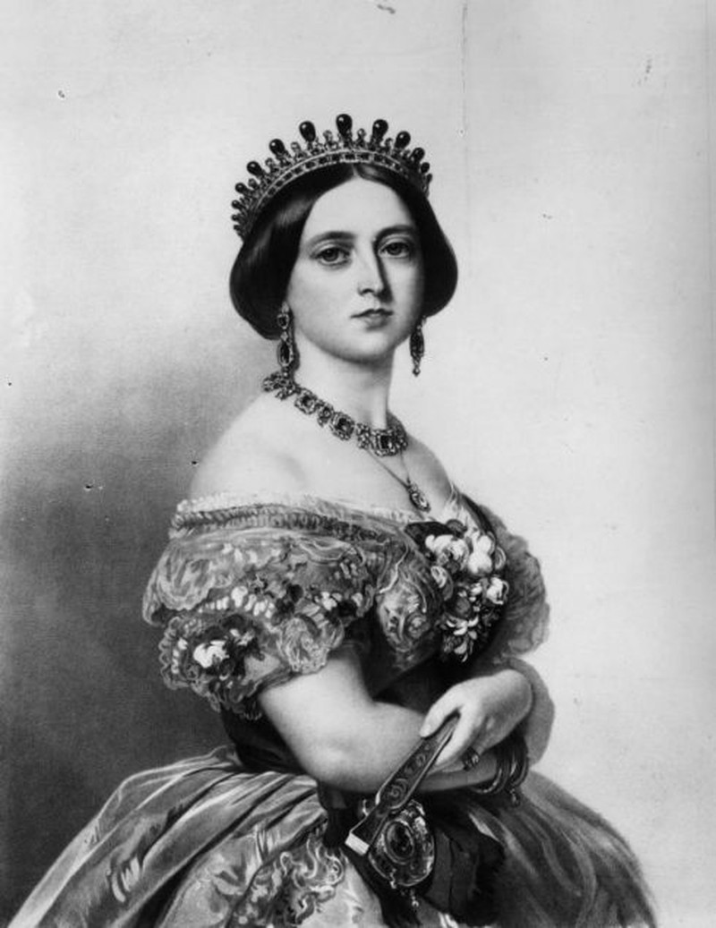 1852: Queen Victoria of Great Britain (1819 - 1901). Original Artist: By T H Maquire. (Photo by Hulton Archive/Getty Images)