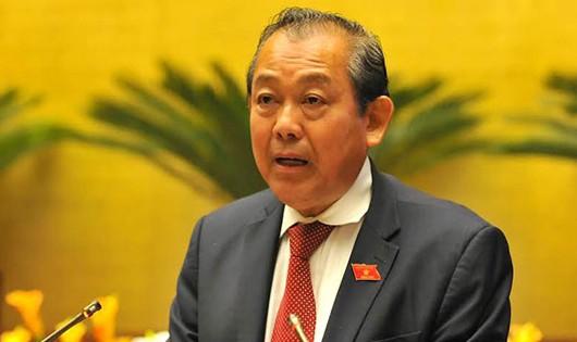 Phó thủ tướng Trương Hòa Bình