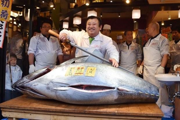 Trả 14 tỉ VND cho một con cá hồi