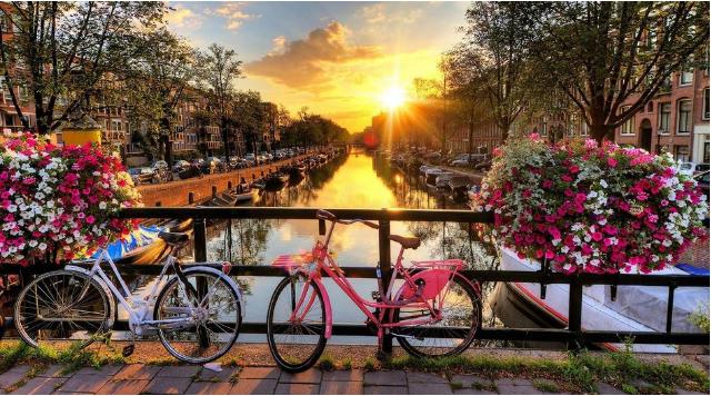 10 thành phố nên thơ trên thế giới - Amsterdam