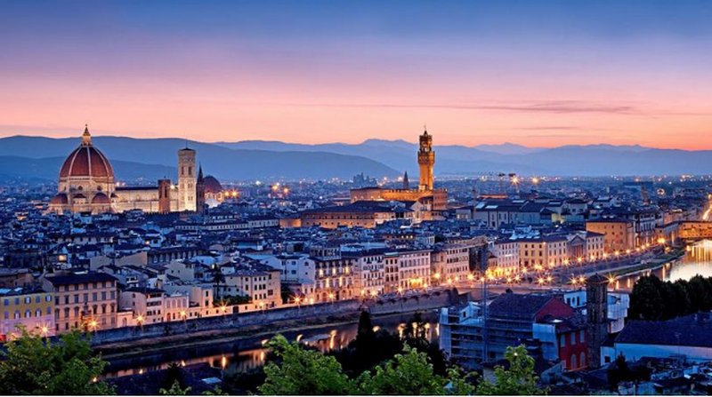 10 thành phố nên thơ trên thế giới - Florence