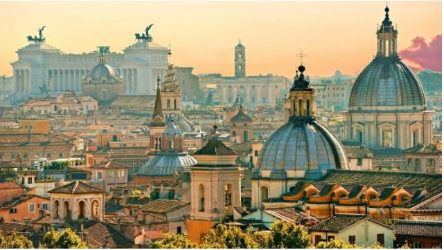 10 thành phố nên thơ trên thế giới - Rome