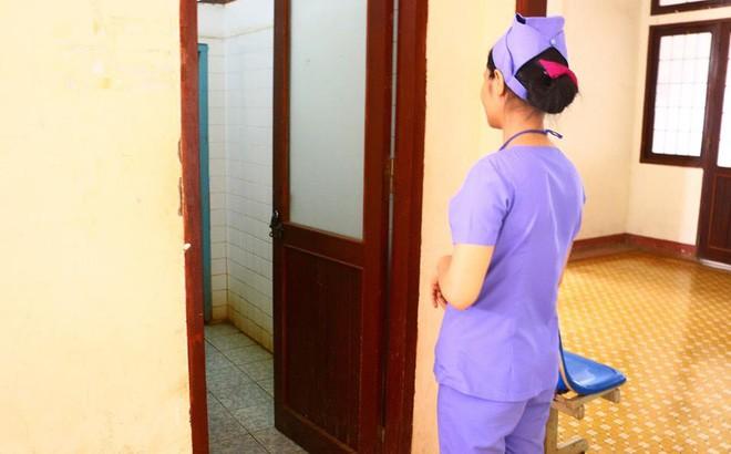 Khu vực phát hiện thi thể hai bé sơ sinh
