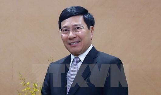 Phó Thủ tướng Phạm Bình Minh công du Trung Quốc