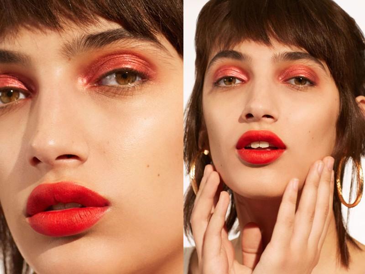 4 phong cách trang điểm mắt với tông màu đỏ