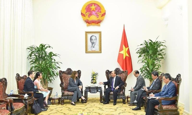 Thủ tướng Nguyễn Xuân Phúc tiếp Đại sứ Israel Meirav