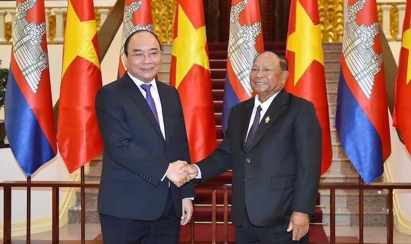 """""""Việt Nam là một đối tác thương mại, đầu tư hàng đầu của Campuchia"""""""
