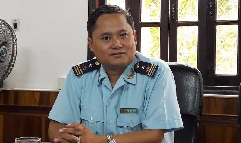 Ông Đinh Ngọc Thanh - Phó Cục trưởng Cục Hải quan tỉnh Quảng Trị