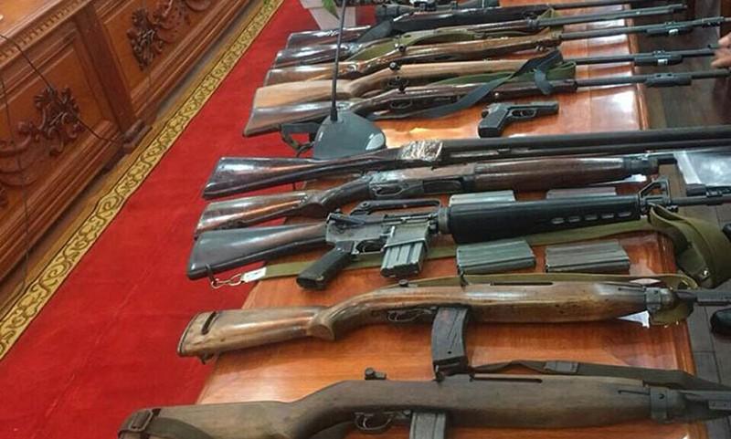 súng, súng quân dụng, Cần Thơ, bắt giữ