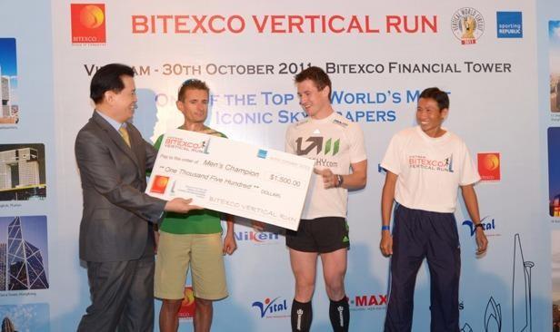 """Tháp tài chính Bitexco đăng cai cuộc thi chạy thang bộ """"HCMC SKYRUN"""""""