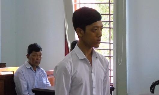 Bị cáo tại phiên toà xét xử