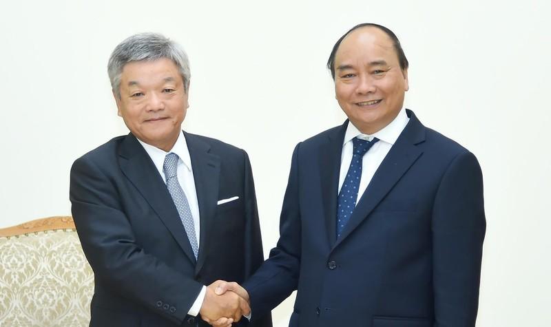 Thủ tướng tiếp Chủ tịch Tập đoàn Nikkei (Nhật Bản)