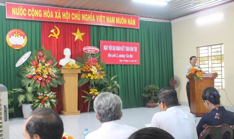 Thành phố Biên Hòa long trọng tổ chức ngày hội Đoàn kết toàn dân tộc