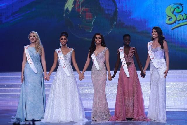 Top 5 của cuộc thi Hoa hậu Thế giới 2017
