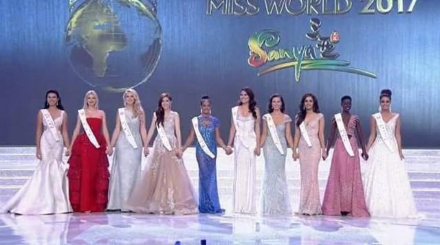 Top 10 của Hoa hậu Thế giới 2017