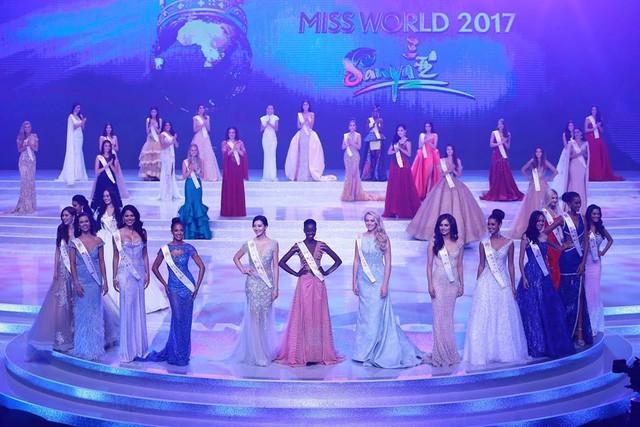 Top 15 của Hoa hậu Thế giới 2017