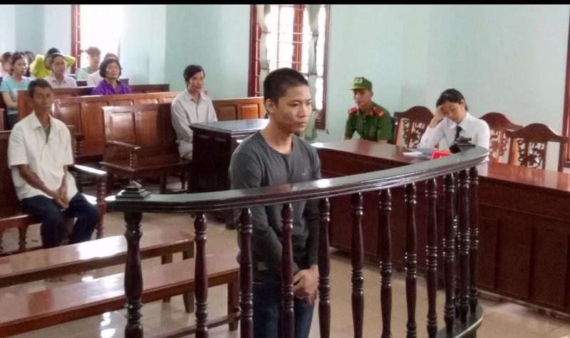 Bị cáo tại phiên tòa xét xử