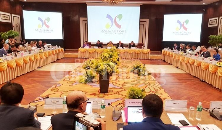 Bế mạc Cuộc họp các Thống đốc Quỹ Á – Âu lần thứ 37