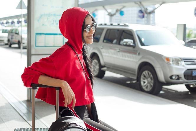 Trương Thị May cùng mẹ sang Đài Loan làm giám khảo Hoa hậu - ảnh 9