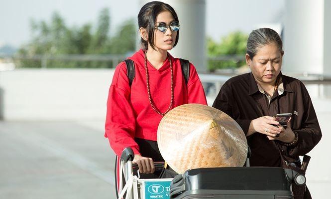 Trương Thị May cùng mẹ sang Đài Loan làm giám khảo Hoa hậu - ảnh 1