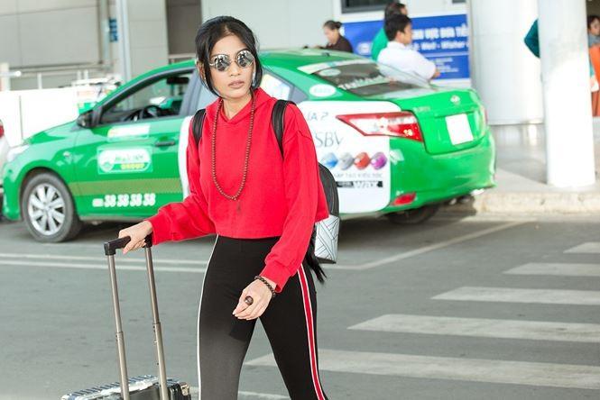 Trương Thị May cùng mẹ sang Đài Loan làm giám khảo Hoa hậu - ảnh 3
