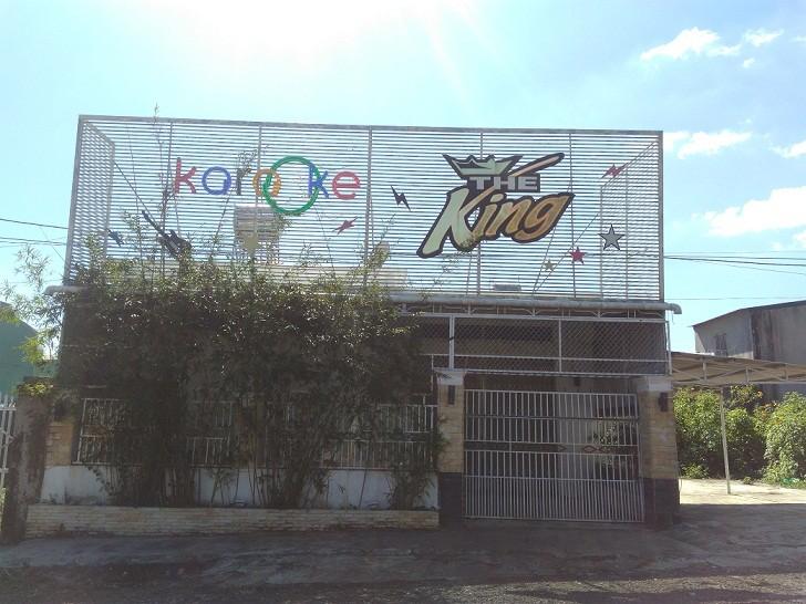 Quán Karaoke, nơi xảy ra mâu thuẫn giữa Phú và nhóm thanh niên