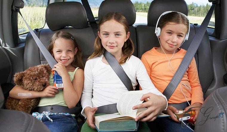 Ngồi xế hộp không thắt dây an toàn sẽ bị phạt