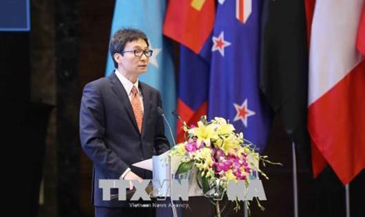 Phó Thủ tướng Vũ Đức Đam dự phiên họp APPF-26
