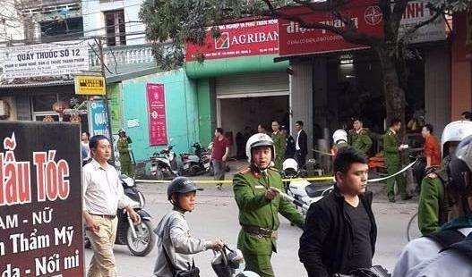 Agribank Bắc Giang bị cướp dùng vũ khí uy hiếp lấy 1 tỷ