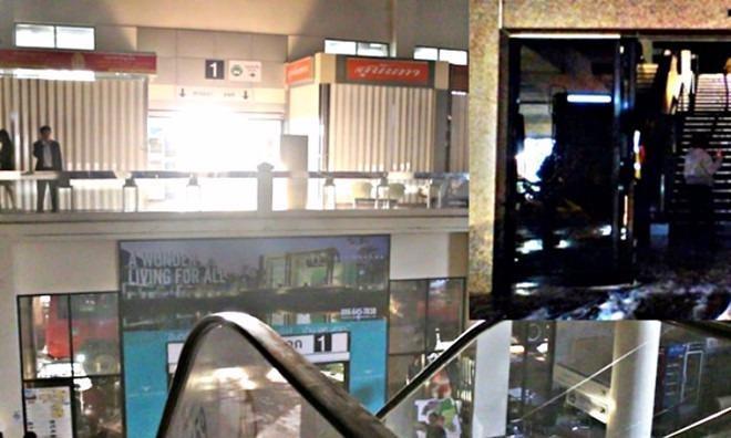 Cháy một sân bay quốc tế Thái Lan, cả ngàn hành khách hoảng loạn