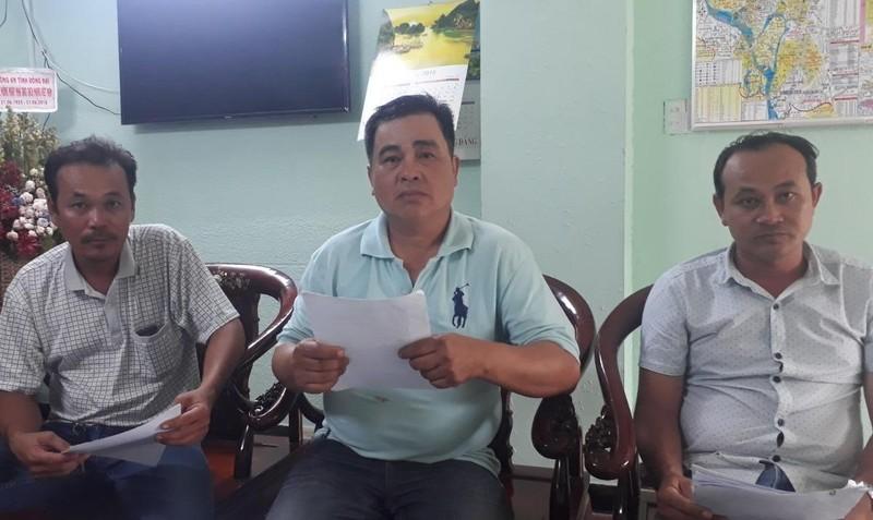 Người dân gửi đơn khiếu kiện lên Báo Pháp luật Việt Nam.