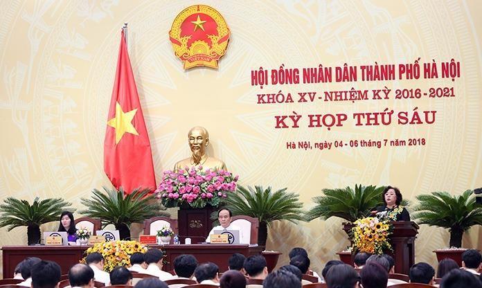 Chủ tịch HĐND TP Nguyễn Thị Bích Ngọc kết luận phiên chất vấn nội dung quản lý nhà chung cư