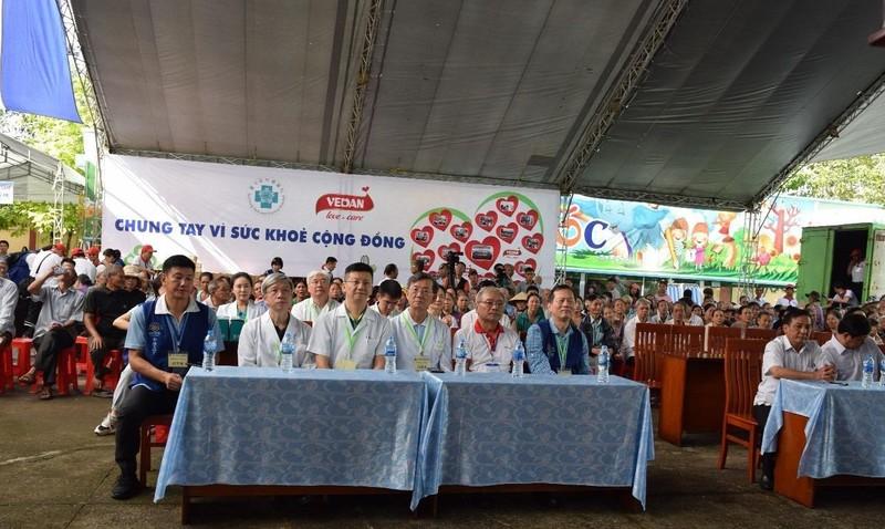 Từ ngày 31/7 đến 2/8, chương trình khám bệnh từ thiện được diễn ra tại các huyện ở tỉnh Đồng Nai.
