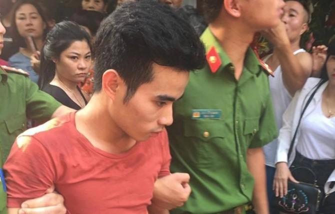 Nghi phạm Lương Văn Dư bị lực lượng chức năng bắt giữ khi đang lẩn trốn tại Vị Xuyên, Hà Giang.