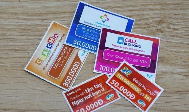 Các nhà mạng lại đề nghị nâng khuyến mại thẻ cào trả trước lên 50%