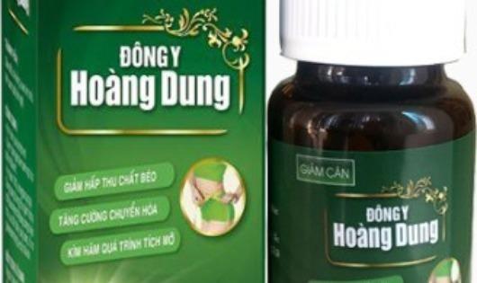 'Đông y Hoàng Dung'  không được cấp giấy an toàn thực phẩm