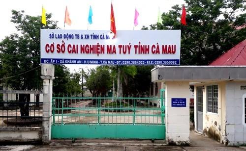 Học viên cai nghiện ở Cà Mau lại trốn trại