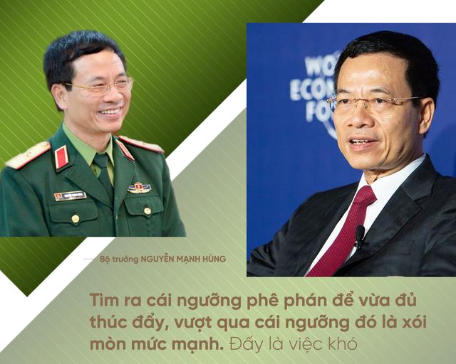 """Bộ trưởng Nguyễn Mạnh Hùng: Người lính trui rèn cả cuộc đời để lĩnh xướng """"cuộc chiến"""" Công nghiệp 4.0 - Ảnh 5."""