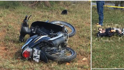 Phát hiện thi thể nam thanh niên bên cạnh chiếc xe máy đổ