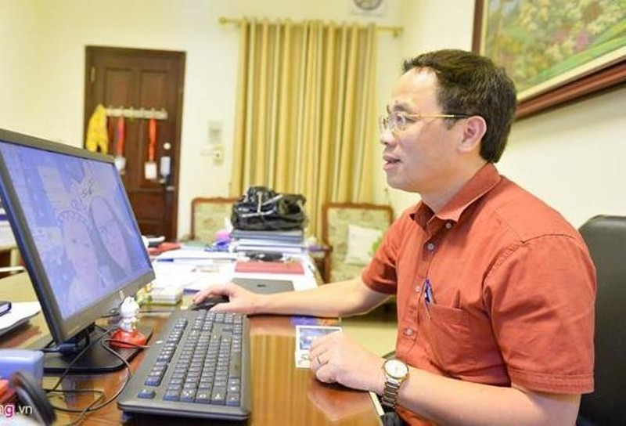 GS.TS Tạ Thành Văn - Hiệu trưởng Đại học Y Hà Nội. Ảnh:Việt Hùng