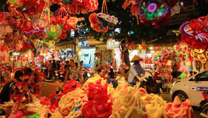 Hà Nội cấm hàng loạt tuyến đường phục vụ lễ hội Trung thu